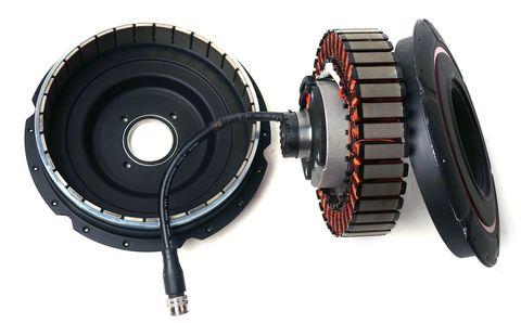 Geared Ebike Hub Motor